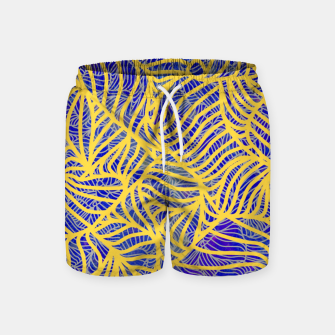 Thumbnail image of Gold Swim Shorts, Live Heroes