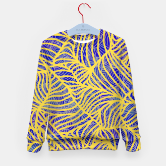Thumbnail image of Gold Kid's sweater, Live Heroes