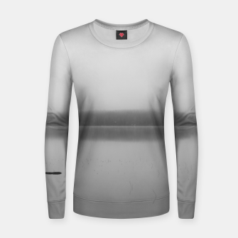 Thumbnail image of Misty lake Women sweater, Live Heroes