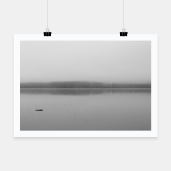 Thumbnail image of Misty lake Poster, Live Heroes