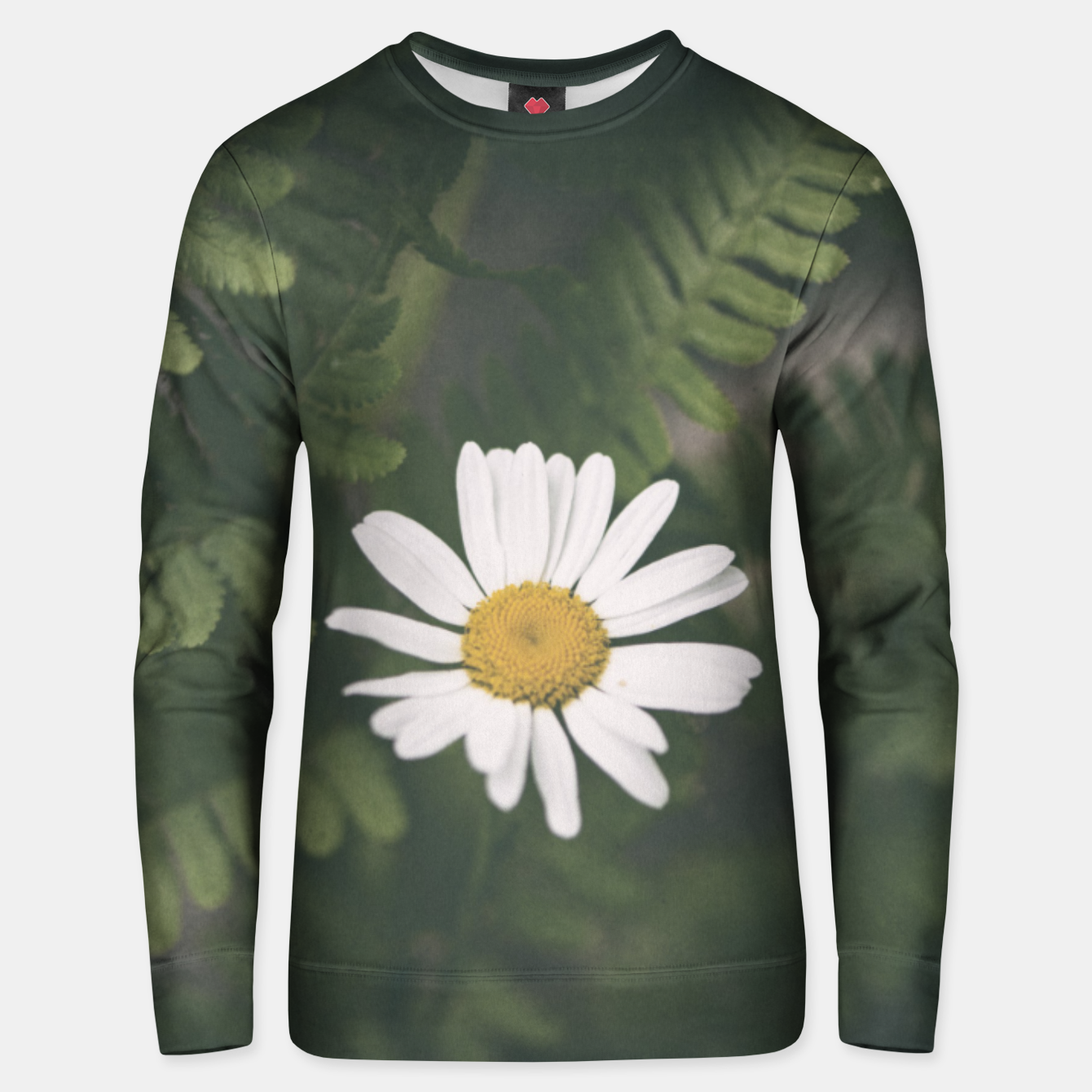 Image of daisy #1 Unisex sweater - Live Heroes