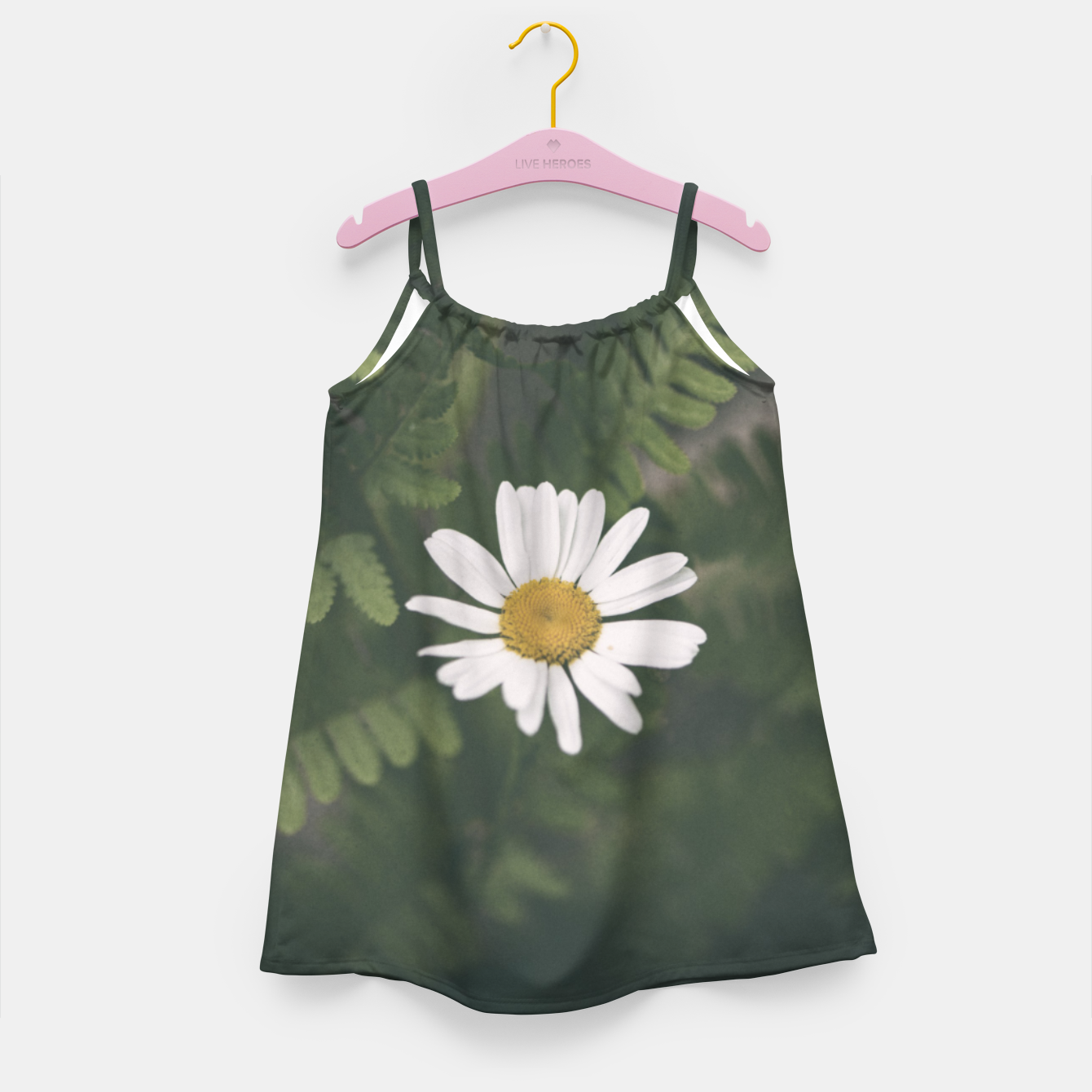 Image of daisy #1 Girl's dress - Live Heroes
