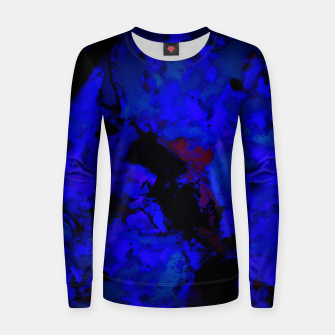 Thumbnail image of A dark blue crash Women sweater, Live Heroes