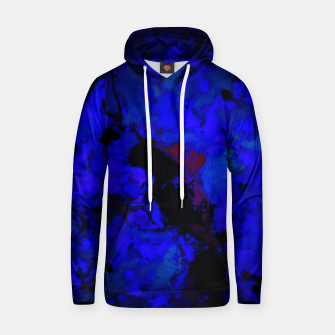 Thumbnail image of A dark blue crash Hoodie, Live Heroes