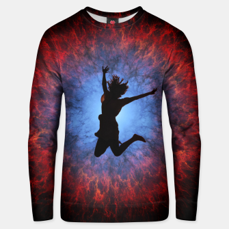 Thumbnail image of Jump Unisex sweater, Live Heroes