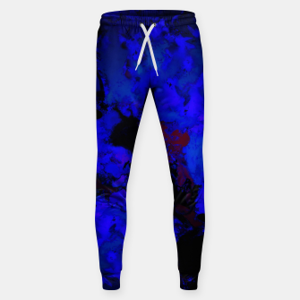 Thumbnail image of A dark blue crash Sweatpants, Live Heroes