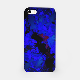 Thumbnail image of A dark blue crash iPhone Case, Live Heroes