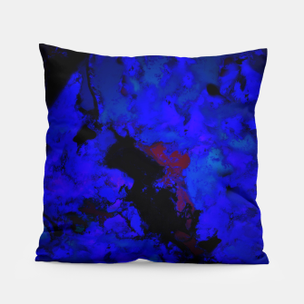 Thumbnail image of A dark blue crash Pillow, Live Heroes