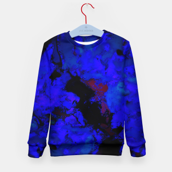 Thumbnail image of A dark blue crash Kid's sweater, Live Heroes