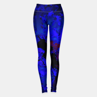 Thumbnail image of A dark blue crash Leggings, Live Heroes