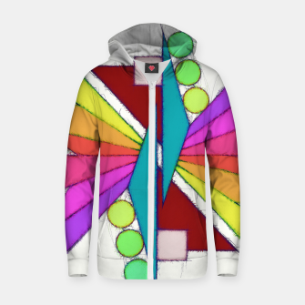 Thumbnail image of Butterfly Zip up hoodie, Live Heroes