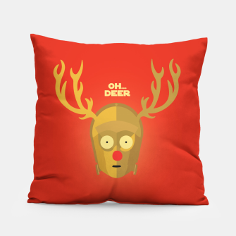 Thumbnail image of OH DEER pillow, Live Heroes