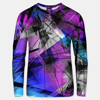 Thumbnail image of Lines of Departure - Futuristic Geometric Abstrct Art Unisex sweater, Live Heroes