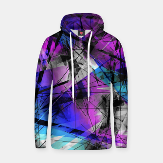 Thumbnail image of Lines of Departure - Futuristic Geometric Abstrct Art Hoodie, Live Heroes
