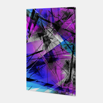 Thumbnail image of Lines of Departure - Futuristic Geometric Abstrct Art Canvas, Live Heroes