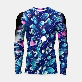 Thumbnail image of christmas tree cartoon 208 Rashguard długi rękaw, Live Heroes