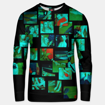 Thumbnail image of  Bosch.The Garden of Earthly Delights Unisex sweater, Live Heroes