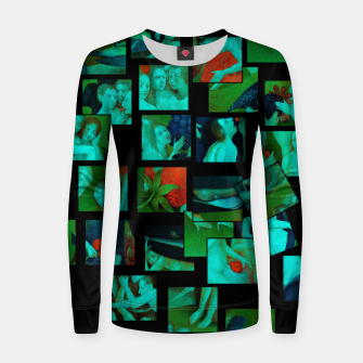 Thumbnail image of  Bosch.The Garden of Earthly Delights Women sweater, Live Heroes