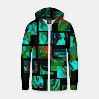 Thumbnail image of  Bosch.The Garden of Earthly Delights Zip up hoodie, Live Heroes