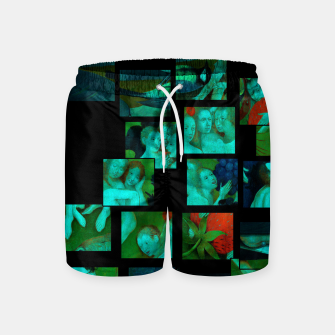 Thumbnail image of  Bosch.The Garden of Earthly Delights Swim Shorts, Live Heroes