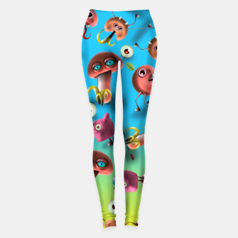 Thumbnail image of Creatures Leggings, Live Heroes