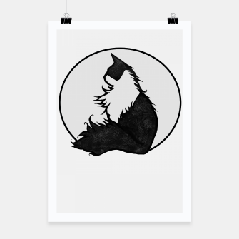 Thumbnail image of Tuxedo Cat  Poster, Live Heroes