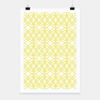 Imagen en miniatura de Abstract pattern - gold and white. Poster, Live Heroes
