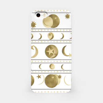 Thumbnail image of Dreamy Golden Moon and Star Pattern #1 #decor #art  iPhone-Hülle, Live Heroes