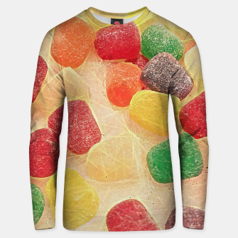 Gum Drops in The Snow Unisex sweater thumbnail image