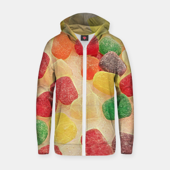 Gum Drops in The Snow Zip up hoodie thumbnail image