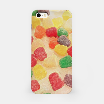 Gum Drops in The Snow iPhone Case thumbnail image