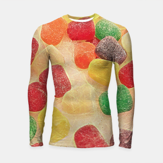 Thumbnail image of Gum Drops in The Snow Longsleeve rashguard , Live Heroes