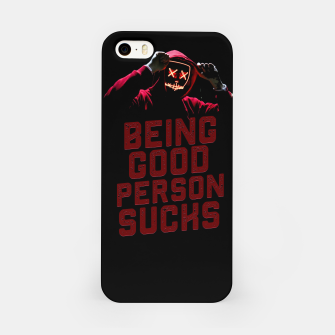 Miniatur Good Person iPhone Case, Live Heroes