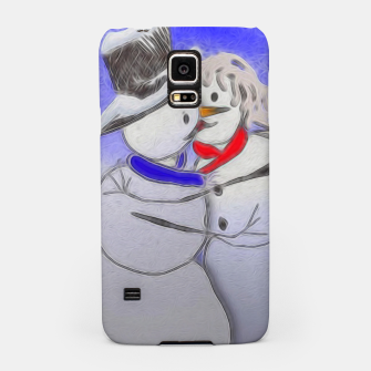 Thumbnail image of Kissing Snow Couple Samsung Case, Live Heroes
