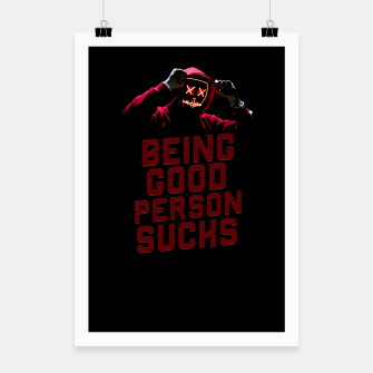Miniatur Good Person Poster, Live Heroes