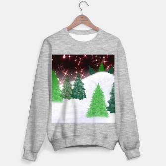 Thumbnail image of Trees on a Christmas Hill Sweater regular, Live Heroes
