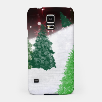 Thumbnail image of Trees on a Christmas Hill Samsung Case, Live Heroes