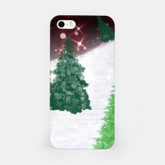 Thumbnail image of Trees on a Christmas Hill iPhone Case, Live Heroes