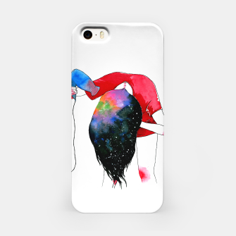 Thumbnail image of hair drying iPhone Case, Live Heroes