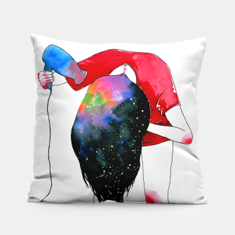 Thumbnail image of hair drying Pillow, Live Heroes