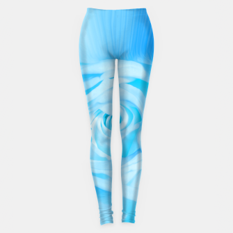 Miniaturka rose liquid blue Leggings, Live Heroes