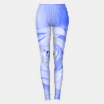 Miniaturka rose liquid deep blue Leggings, Live Heroes