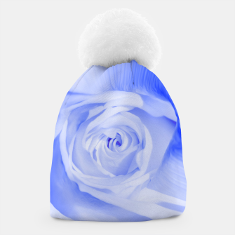 Thumbnail image of rose liquid deep blue Beanie, Live Heroes