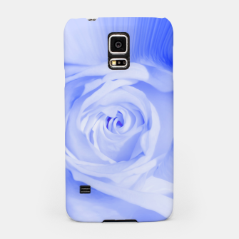 Thumbnail image of rose liquid deep blue Samsung Case, Live Heroes