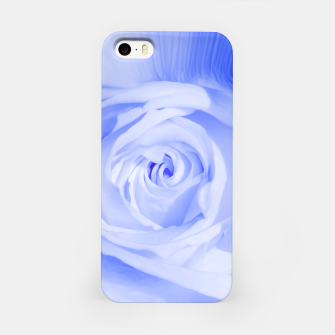 Thumbnail image of rose liquid deep blue iPhone Case, Live Heroes