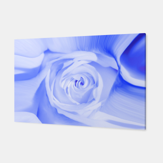 Thumbnail image of rose liquid deep blue Canvas, Live Heroes