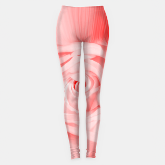 Miniaturka rose liquid red Leggings, Live Heroes
