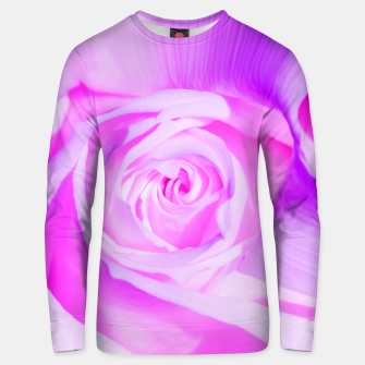 Thumbnail image of rose liquid violet Unisex sweater, Live Heroes