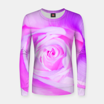 Thumbnail image of rose liquid violet Women sweater, Live Heroes