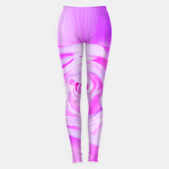 Miniaturka rose liquid violet Leggings, Live Heroes